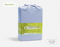 Bamboo Cotton Sheet Set - Marina Blue