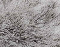 Close up of Frosty Euro Sham in Titanium.