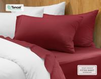 BeechBliss TENCEL™ Modal Pillowcases on bed.