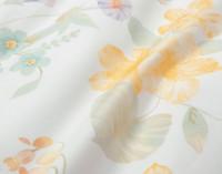 Close up of print on Alyssa Duvet Cover.