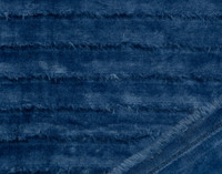 Fringe Velour Throw in Sail Blue.