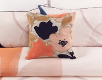 Memphis Square cushion cover.