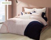 Memphis Bedding Collection, angle view.
