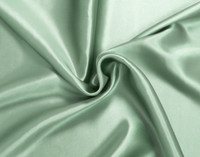 Close up of silk pillowcase.