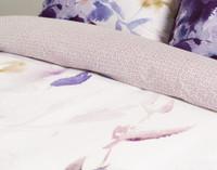 Close up of print on Esprit Duvet Cover.