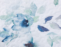 Close up of floral print.