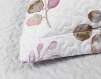 Close up of Ashgrove Pillow Sham flange.