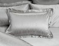 Armoire Pillow Sham, lace detailing along flange