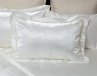 Verve Pillow Sham, lace detailing along flange