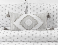 Sydney Boudoir shown with the matching duvet cover and pillow shams