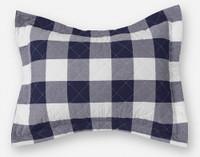 Wellington Navy Quilt Set Pillow Sham