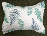 Forest Fern Pillow Sham