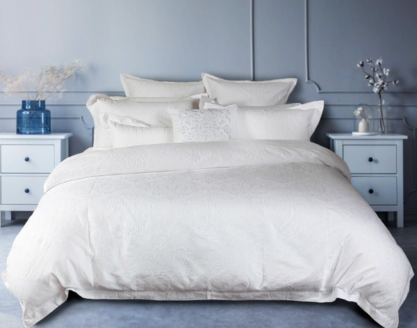 Styling an All White Bed