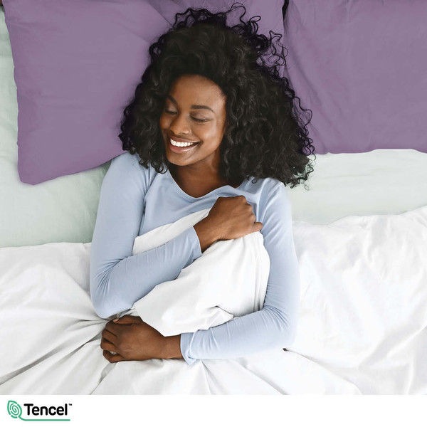 Discover our Eucalyptus Luxe Sheets With TENCEL™ Lyocell Fibers in Two New Colours!