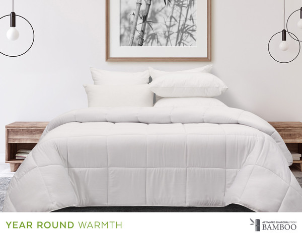Bamboo Charcoal Duvet, front view