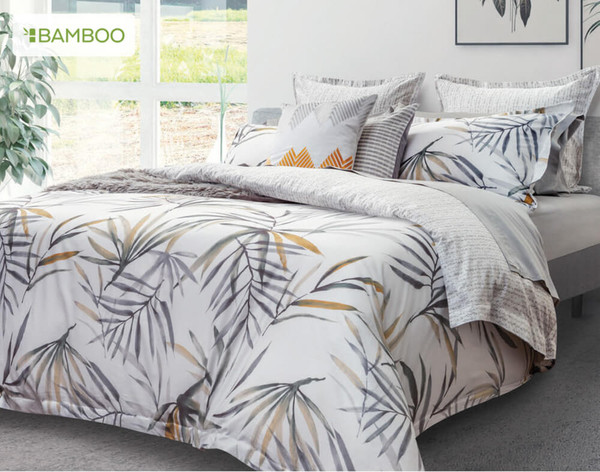 Tobago Bedding Collection, angled view