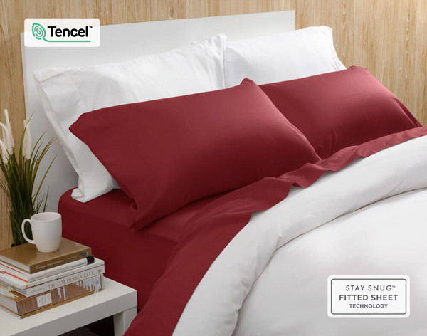 BeechBliss TENCEL™ Modal Sheet Set - Garnet