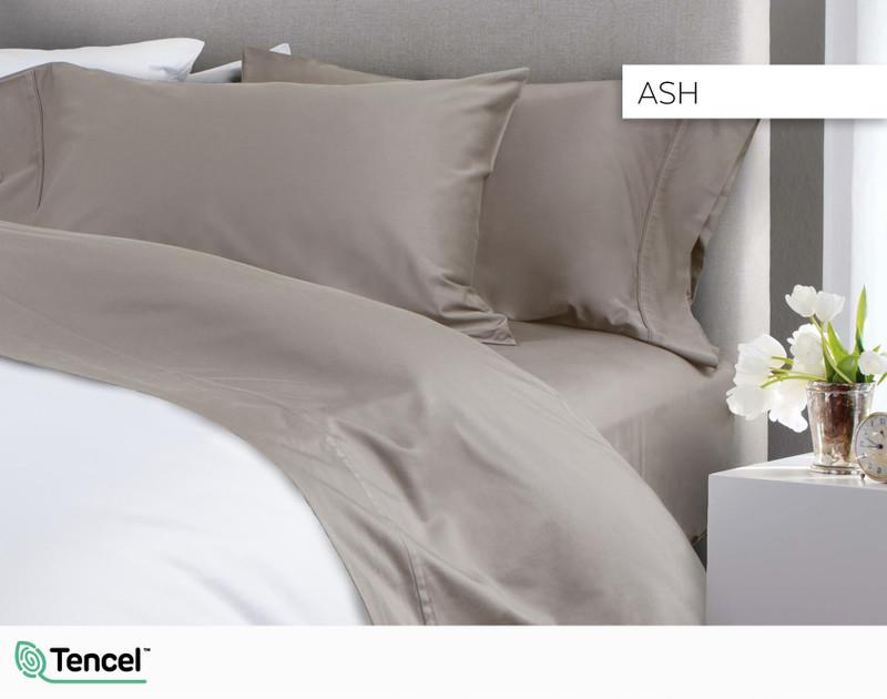 300TC TENCEL™ Lyocell Blend Sheet Set - Ash