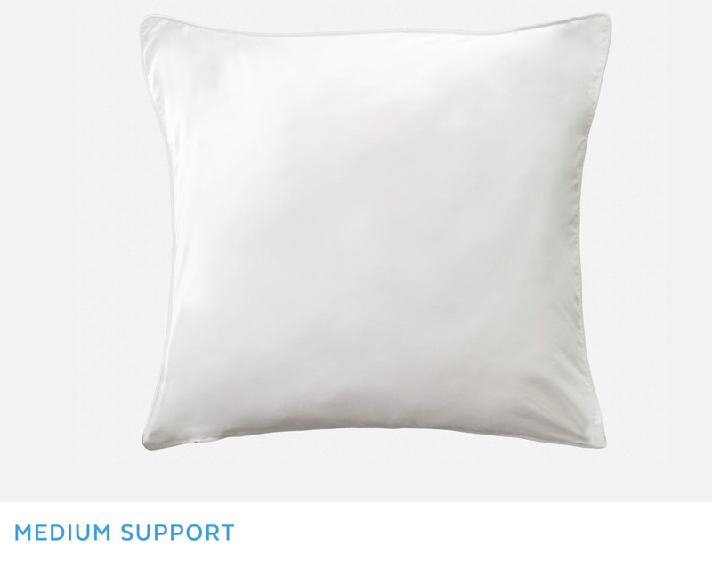"""Overall view of Essential Euro Pillow Insert, which measures 24"""" x 24""""."""