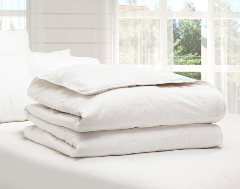 Pearl Mulberry Silk Duvet, folded