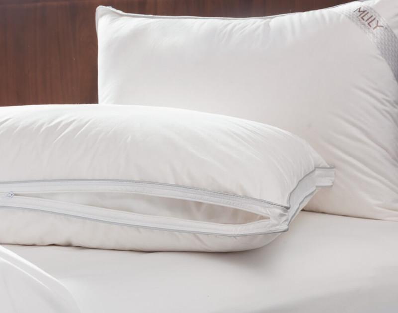 MLILY® Adjust-A-Pillow Memory Foam Pillow unzipped to show inner liner.