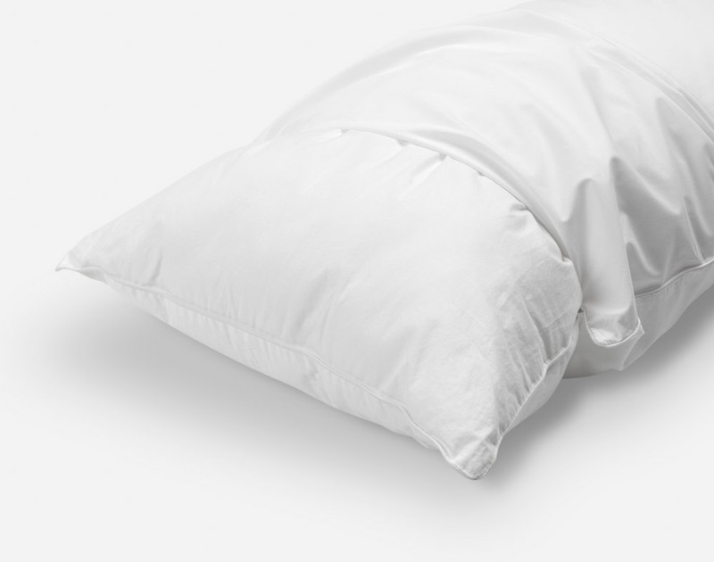 Elite Pillow Protector, side view.