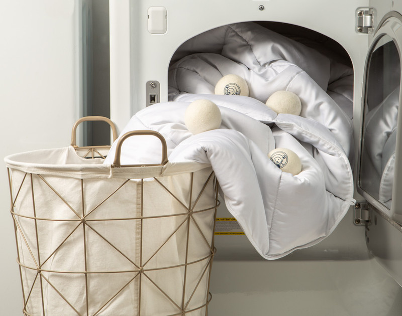 Nellie's® Lamby Wool Dryerballs are perfect for reducing static and laundry time, made from 100% pure New Zealand wool.