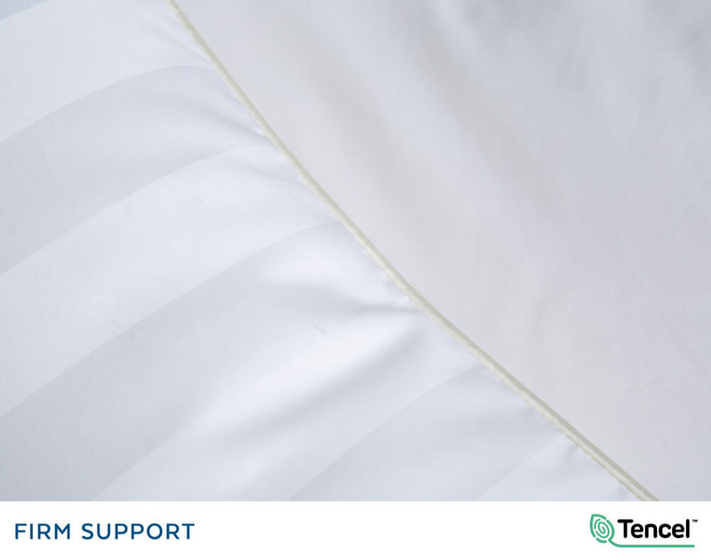 Advanta Microgel Pillow seam, close-up