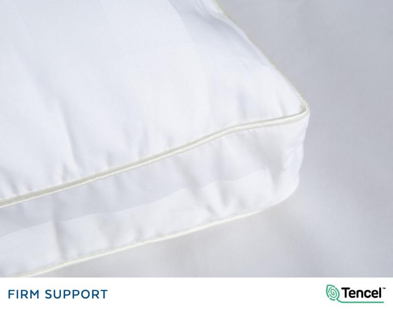 Advanta Microgel PIllow corner, close-up