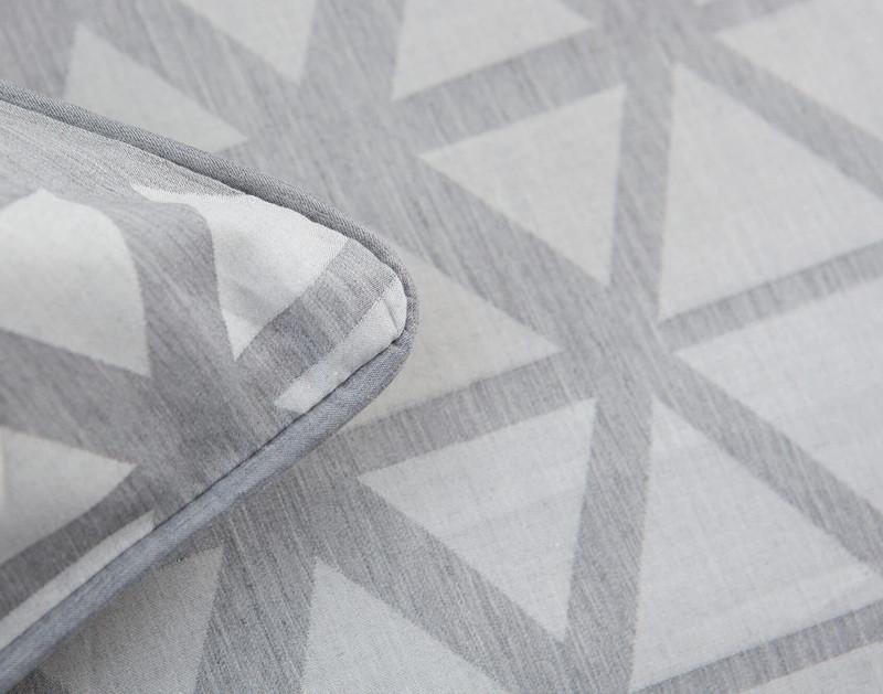 Theo Pillow Sham corner close-up