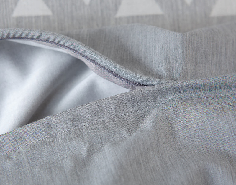 Theo Bedding Collection, zipper close-up