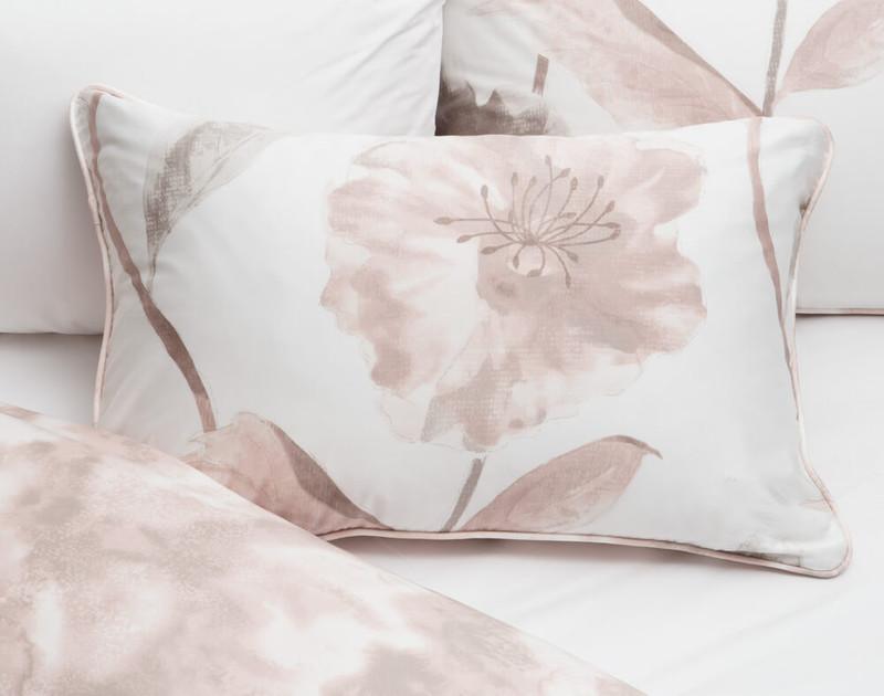 Dawn Pillow Sham on bed