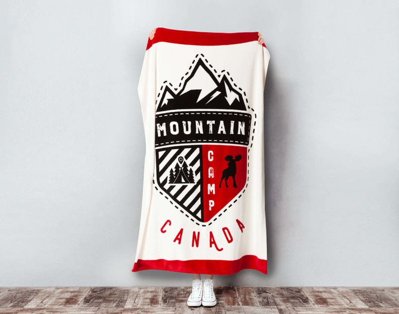 Canada Scout Fleece Throw.
