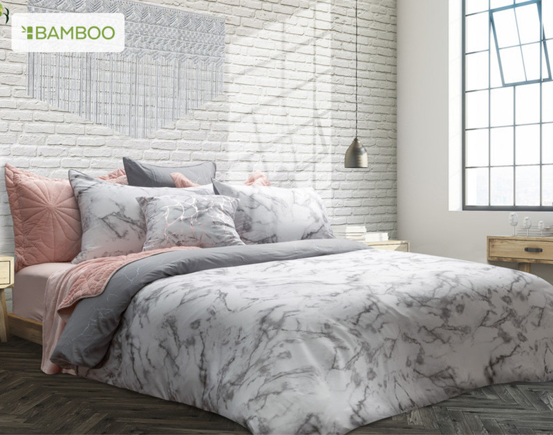 Merano Duvet Cover in casual bedroom