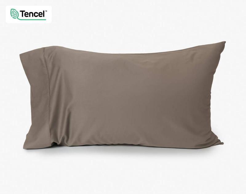 BeechBliss Modal Pillowcase in Porcini Brown