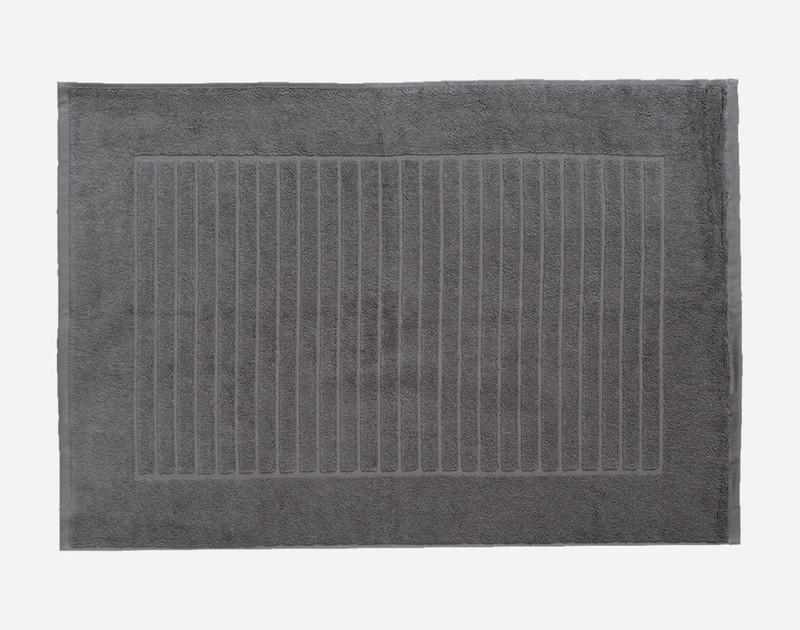 Modal Bath Mat in Grey.