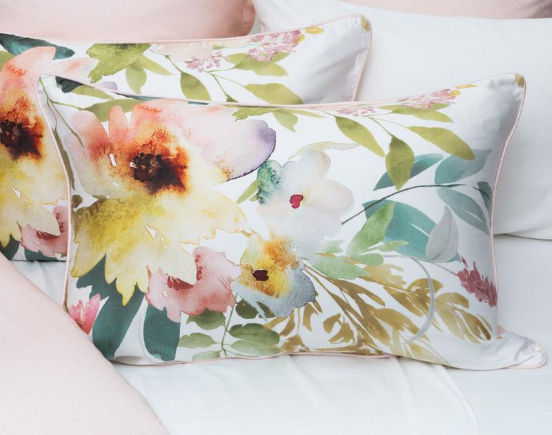 Two Solange Pillow Shams.