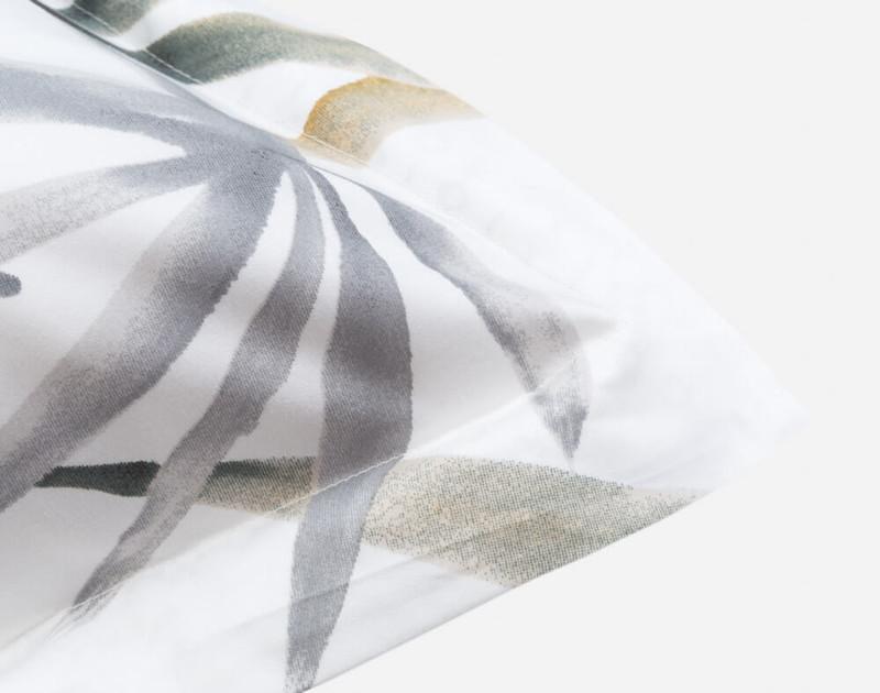 Tobago Pillow Sham corner close-up