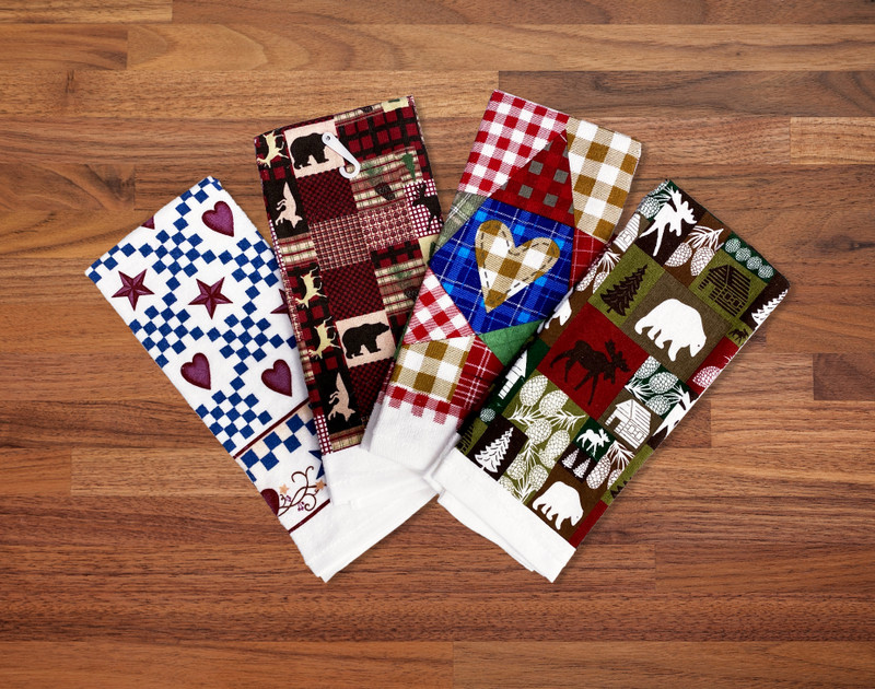 Wild North Tea Towels- Heart Check