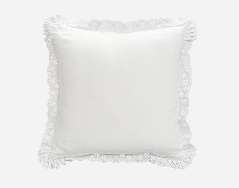 The Palma Duvet Cover Square Cushion Sham.