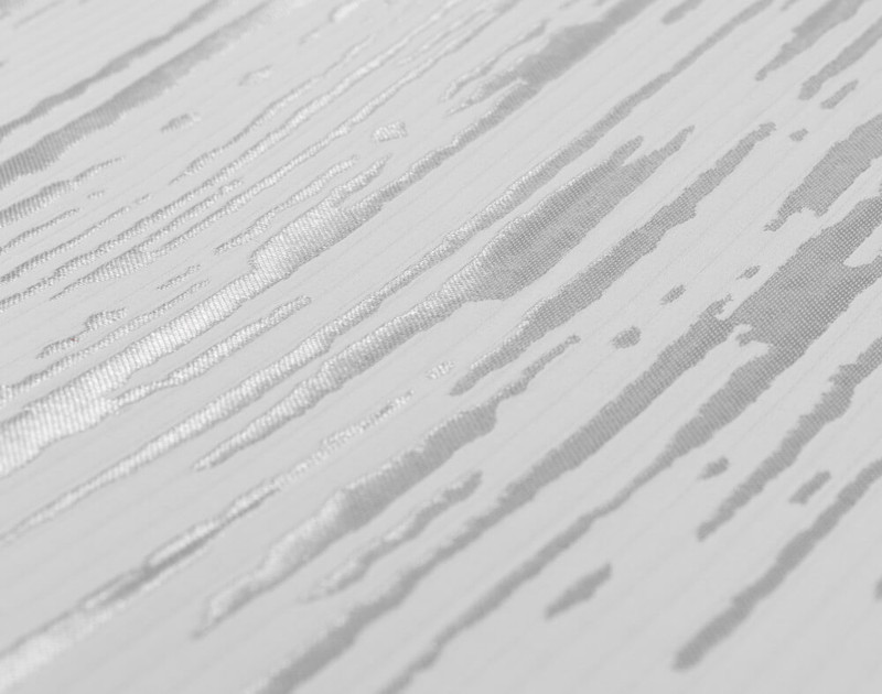Close up of silver striations on Cloudburst Duvet Cover.