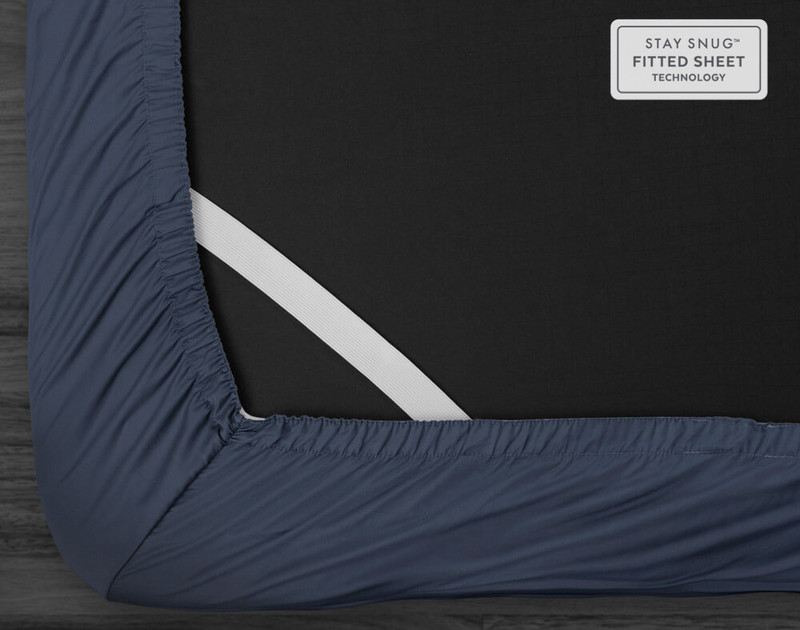 500TC Supima® Cotton Sheet Set - Sapphire