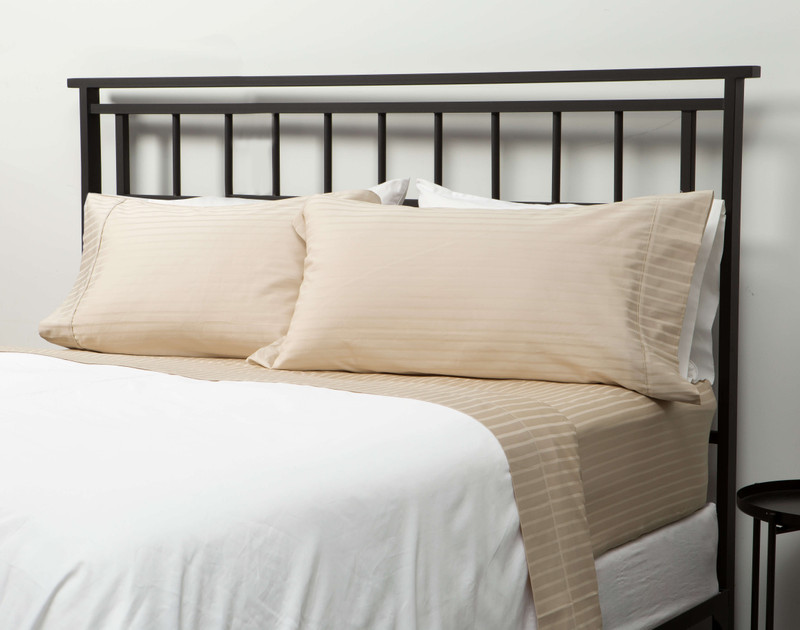 450TC Wrinkle Resistant Egyptian Cotton California King Sheet Set in Mist,  a creamy off-white