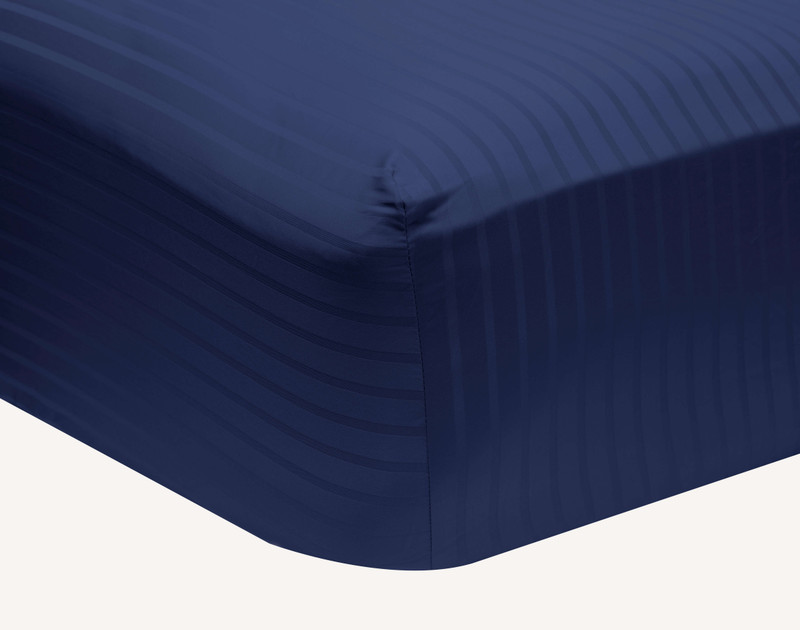 Close up of fitted sheet