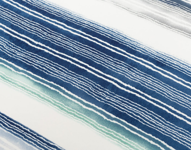 Close up of Windswept striped pattern