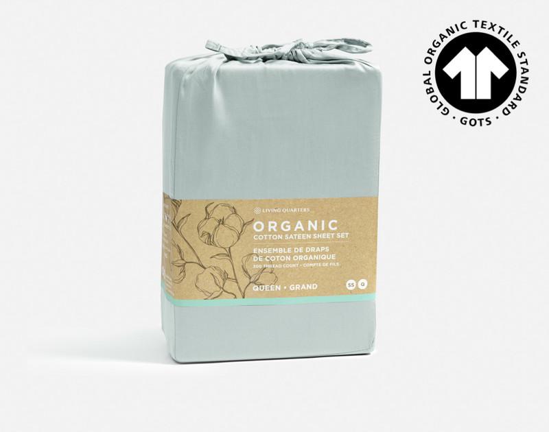 Organic Cotton packaging.