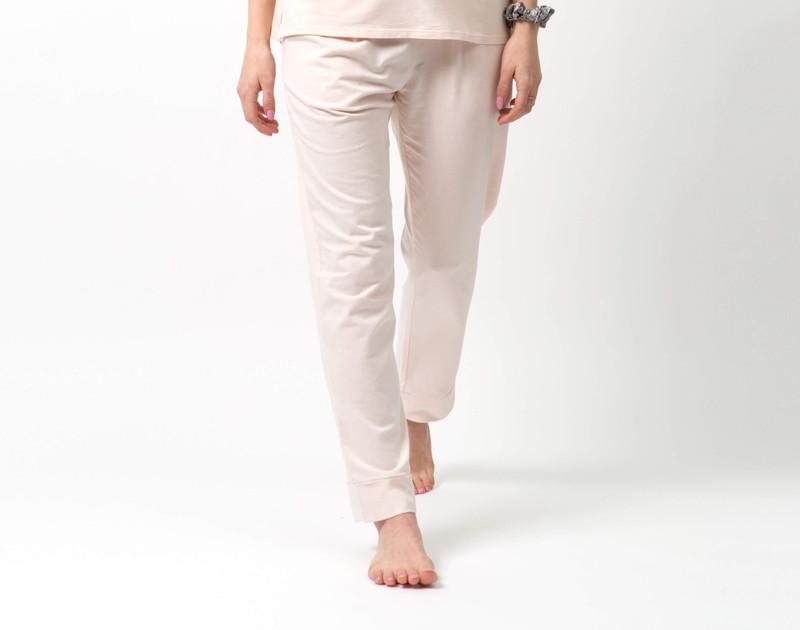 Modal Jersey Lounge Pants in Ballet Pink.