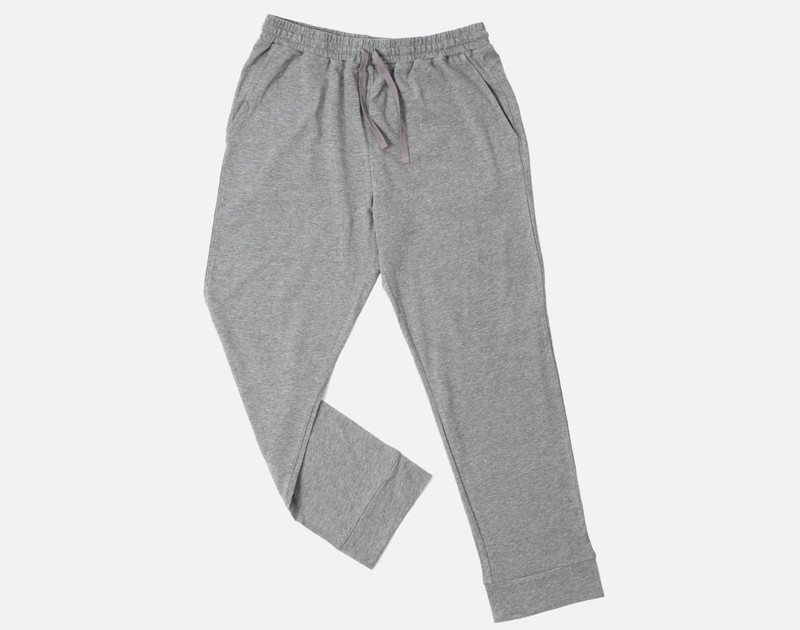 Modal Jersey Lounge Pants in Heathered Grey