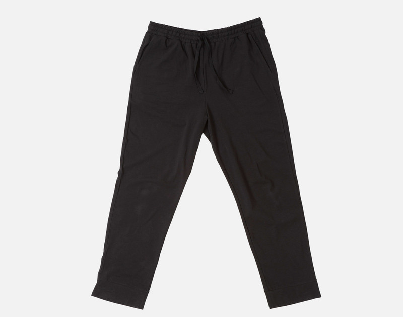 Modal Jersey Lounge Pants in Black