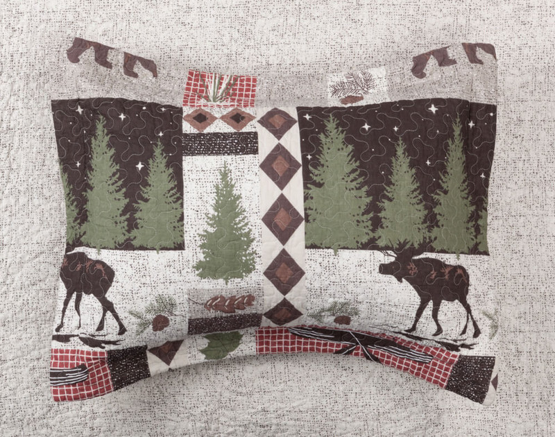 Back Country Pillow Sham.